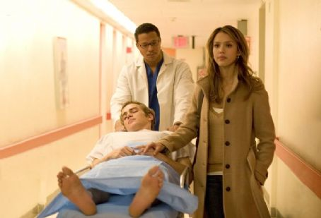Terrence Howard , Hayden Christensen and Jessica Alba in Weinstein Company, Awake - 2006. Directed by Joby Harold