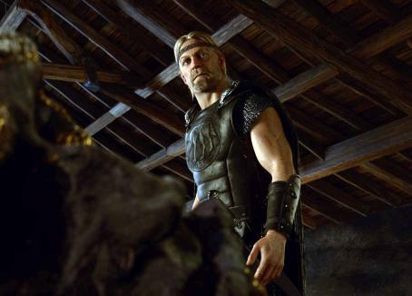 "Ray Winstone The Viking hero, Beowulf, promises to slay the monster that is terrorizing King Hrothgar's kingdom in ""Beowulf."" Photo: Paramount Pictures and Shangri-La Entertainment, LLC. © 2007 by Paramount Pictures and Shangri-La Entertainment, LLC."