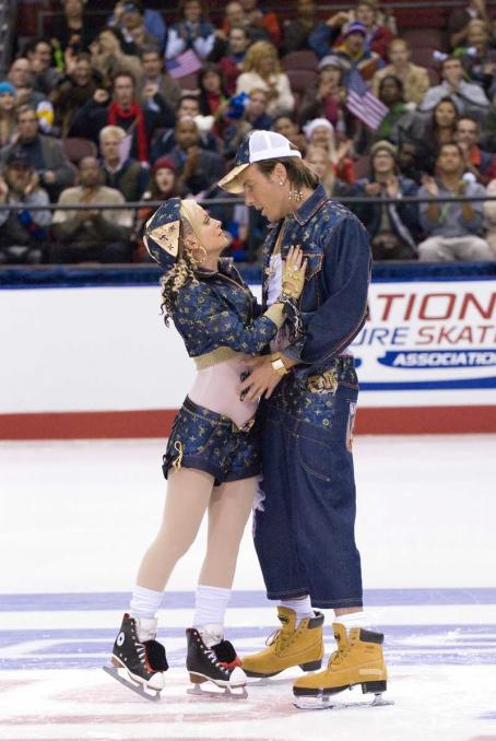Amy Poehler and Will Arnett - Amy Poehler as Fairchild and Will Arnett as Stranz in Blades of Glory - 2007