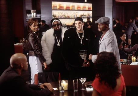 Nicole Ari Parker Boris Kodjoe, , Reggi Wyns, Erik Weiner, Taye Diggs and Sanaa Lathan in Fox Searchlight's Brown Sugar - 2002