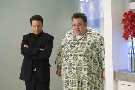 Preston Lacy Chris Kattan and  in Christmas in Wonderland, Yari Film Group release. © 2007 Yari Film Group Releasing.