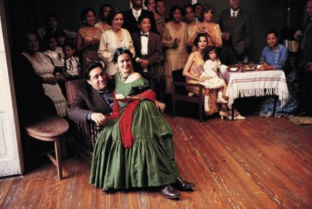 Alfred Molina Salma Hayek and  in Miramax's Frida - 2002