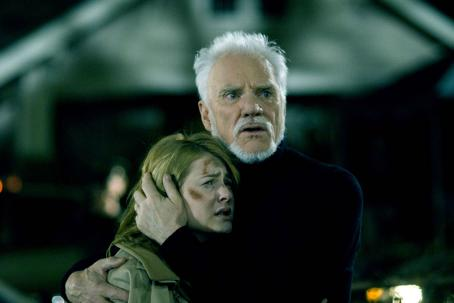 Scout Taylor-Compton  (Laurie Strode) and Malcom McDowell (Dr. Loomis) star in Rob Zombie's Halloween. Photo by: Marsha Blackburn LaMarca/Dimension Films, 2007