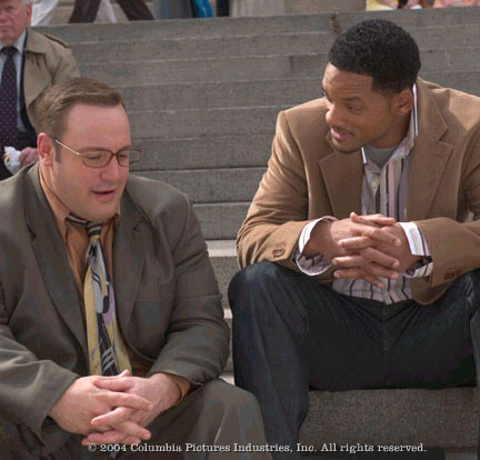 Kevin James Will Smith stars as Alex 'Hitch' Hitchens and  as Albert Brennaman in Andy Tennant's Hitch, also starring Eva Mendes and Amber Valletta.