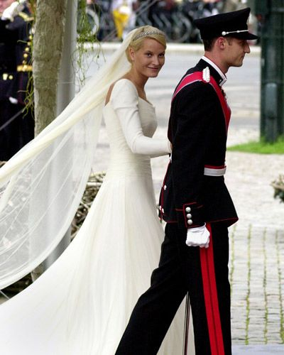 Kronprinsesse Mette Marit - Haakon and Mette-Marit  - The Wedding