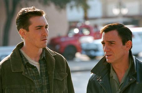 Perry Smith Lee Pace as Dick Hickock and Daniel Craig as  in director Douglas McGrath's Infamous, a Warner Independent Pictures release. Photo Credit: Deana Newcomb © 2005 Warner Bros. Entertainment Inc.