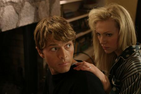 Misha Collins Paul Bernardo () and Karla Homolka (Laura Prepon) in Karla - 2006