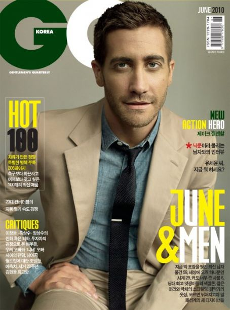 Jake Gyllenhaal - GQ Magazine [Korea, North] (June 2010)