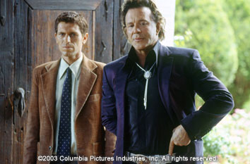 Once Upon a Time in Mexico Mickey Rourke in Columbia's  - 2003
