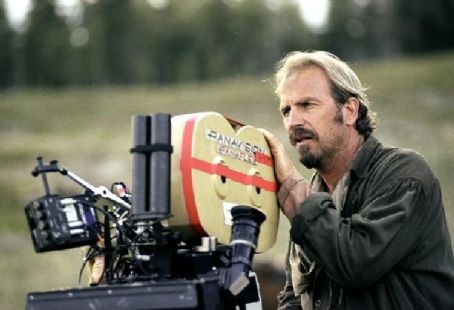 Open Range Academy Award-winning director Kevin Costner.