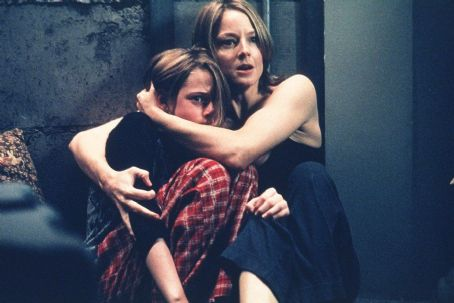 Panic Room Kristen Stewart and Jodie Foster in Columbia's  - 2002