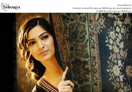 Sonam Kapoor . Courtesy of Sony Pictures and SLB Films. All Right Reserved. © Sony Pictures and SLB Films