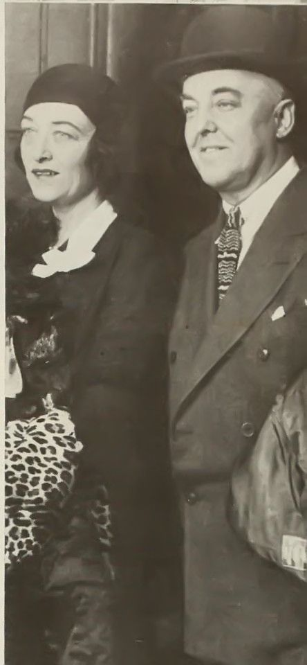 Pauline Frederick and Hugh C. Leighton