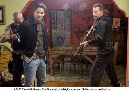 Street Kings From left: Amaury Nolasco, Keanu Reeves and John Corbett in STREET KINGS. Photo Credit: Merrick Morton