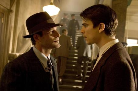 The Black Dahlia Aaron Eckhart and Josh Hartnett in Universal Pictures'  - 2006
