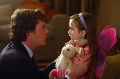 "The Last Mimzy Timothy Hutton (left) stars as ""David Wilder"" and Rhiannon Leigh Wryn (right) stars as ""Emma Wilder"" in New Line Cinema's release of Bob Shaye's THE LAST MIMZY. Photo Credit: ©2007 Shane Harvey/New Line Cinema"