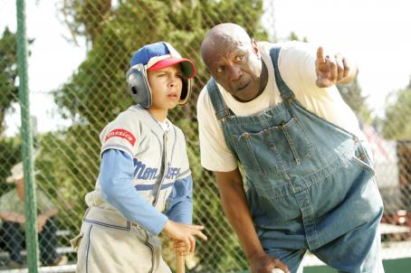 Louis Gossett Jr. Angel (Jake T. Austin, left) and Cool Papa Bell () in THE PERFECT GAME. Photo credit: Vivian Zink.