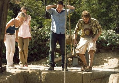 Laura Ramsey L to R: , Jena Malone, Jonathan Tucker and Shawn Ashmore in the scene of 'The Ruins' DreamWorks Pictures Release.
