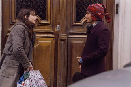 Charlotte Gainsbourg  (Stephanie) and Gael García Bernal (Stephane) in director Michel Gondry's The Science of Sleep, a Warner Independent Pictures release. Photo credit: Etienne George.