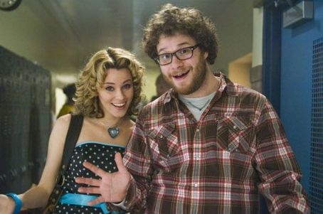 Zack and Miri Make a Porno Miri (Elizabeth Banks) with Zack (Seth Rogen) in The Weinstein Company drama romance '.'