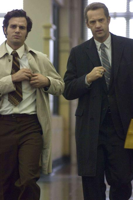 Anthony Edwards Mark Ruffalo as Dave Toschi and  as Bill Armstrong in Paramount Pictures' Zodiac - 2007