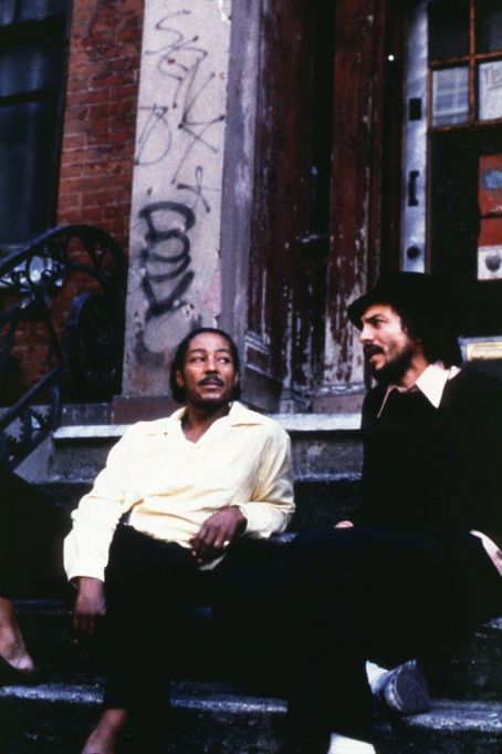 Giancarlo Esposito  as Miguel Algarin and Benjamin Bratt as Puerto Rican poet-playwright-actor Miguel Piñero in Miramax's Pinero - 2001