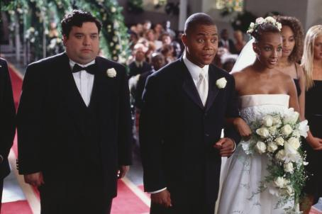 Cuba Gooding Jr. Soon-to-be-married Jerry ( ) and Felicia (Vivica A. Fox) and their best man Nick (left, Horatio Sanz).