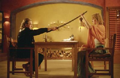 David Carradine Uma Thurman and  in Quentin Tarantino's Kill Bill Vol. 2 - 2004