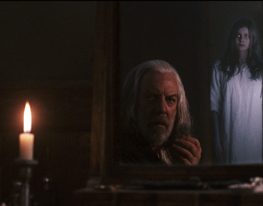 Donald Sutherland  as John Bell and Rachel Hurd-Wood as Betsy Bell in Courtney Solomon movies' An American Haunting - 2006