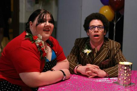 Fat Girls Ashley Fink (Sabrina), Robin DeJesus (Rudy) in  - 2007