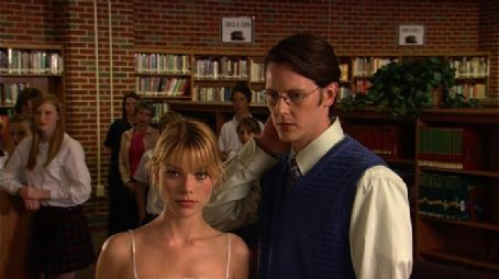 Gabriel Mann Mary (Lauren German) and Brent () at the Science Fair