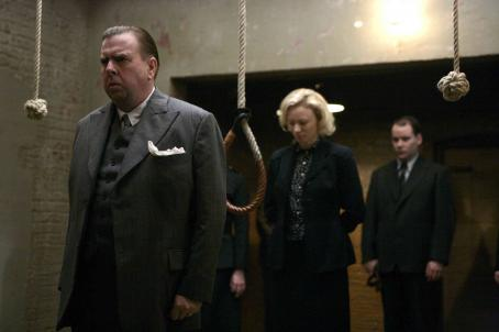 "Albert Pierrepoint From Left to Right front: Timothy Spall ("""") and Mary Stockley (""Ruth Ellis"") in a scene from PIERREPOINT directed by Adrian Shergold. An IFC Films release."
