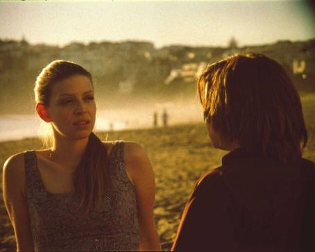 Amber Benson Maggie () at beach in Russell Brown romance Race You to the Bottom - 2007