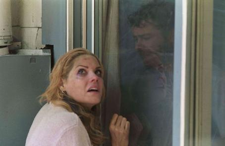 Mary McCormack Lexi () and Brad (Rory Cochrane) in director Chris Gorak's RIGHT AT YOUR DOOR. Photo credit: Jim Sheldon.