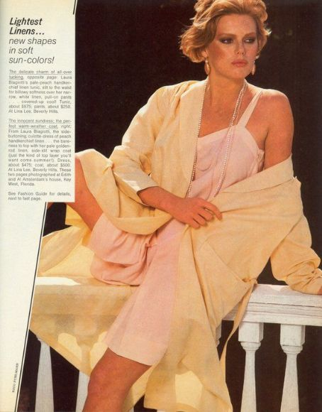 Patti Hansen - Harpers Bazaar Magazine Pictorial [United States] (March 1980)