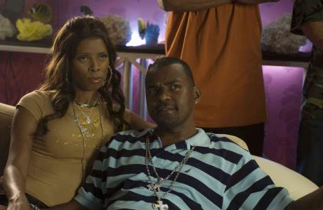Daddy's Little Girls Jennifer (Tasha Smith) and Joe (Gary Sturgis) in TYLER PERRY'S DADDY'S LITTLE GIRLS. Photo credit: Alfeo Dixon