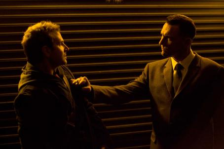 Vinnie Jones Leon (Bradley Cooper) and Mahogany () in THE MIDNIGHT MEAT TRAIN. Photo credit: Saeed Adyani