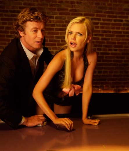 Simon Baker  as Roderick and Sophie Monk as Cynthia in Daniel Waters' Sex and Death 101.