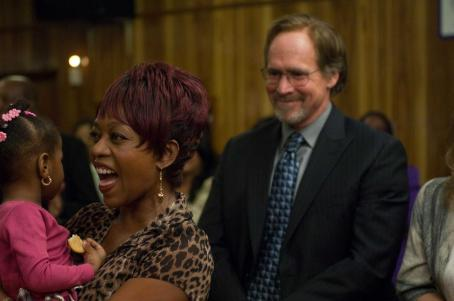 Will Patton Alfre Woodard as Alma Roberts and  as Sam Conroy in Samuel Goldwyn Films' AMERICAN VIOLET. Credit: Scott Saltzman / SAMUEL GOLDWYN FILMS