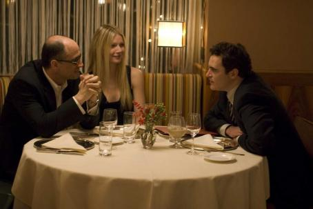 Elias Koteas , Gwyneth Paltrow and Joaquin Phoenix in TWO LOVERS, a Magnolia Pictures release. Photo courtesy of Magnolia Pictures.