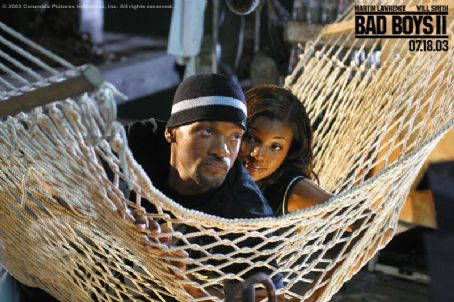 Bad Boys II Will Smith and Gabrielle Union in Columbia's  - 2003