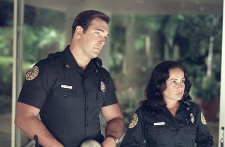 Patrick Warburton and Janeane Garofalo in Touchstone's Big Trouble - 2002