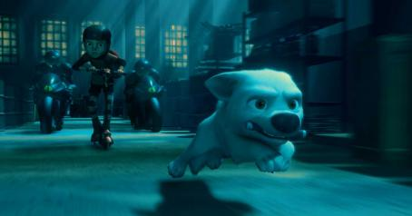 Bolt BOLT (voice of JOHN TRAVOLTA). A scene from Walt Disney Pictures' .