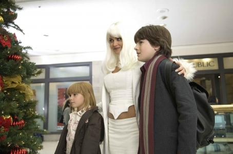 Matthew Knight Amy Schlagel, Carmen Electra and  in Christmas in Wonderland, Yari Film Group release. © 2007 Yari Film Group Releasing.