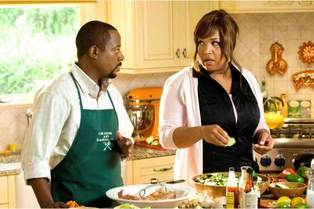College Road Trip Martin Lawrence and Arnetia Walker in COLLEGE ROAD TRIP.