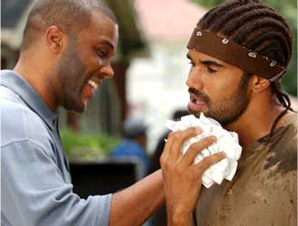 Tyler Perry  as Brian, Shemar Moore as Orlando.