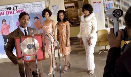 Anika Noni Rose Jamie Foxx, Beyonce Knowles,  and Jennifer Hudson in DreamWorks Pictures' and Paramount Pictures' Dreamgirls - 2006
