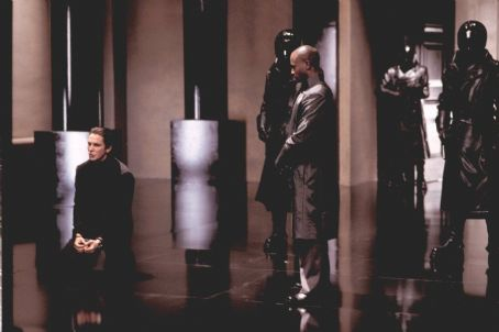 Taye Diggs Christian Bale and  in Miramax's Equilibrium - 2002