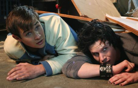 "Ryan Merriman (left to right)  stars as ""Kevin"" and Kris Lemche stars as ""Ian McKinley"" in New Line Cinema's fright-filled upcoming FINAL DESTINATION 3. Photo Credit: ©2005 Shane Harvey/New Line Productions"