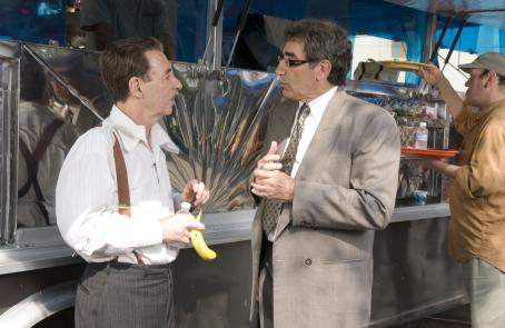 Harry Shearer  as Victor Allan Miller and Eugene Levy as Morley Orfkin in director Christopher Guest's For Your Consideration.  Photo credit: Suzanne Tenner © 2006 Shangri-La Entertainment, LLC.